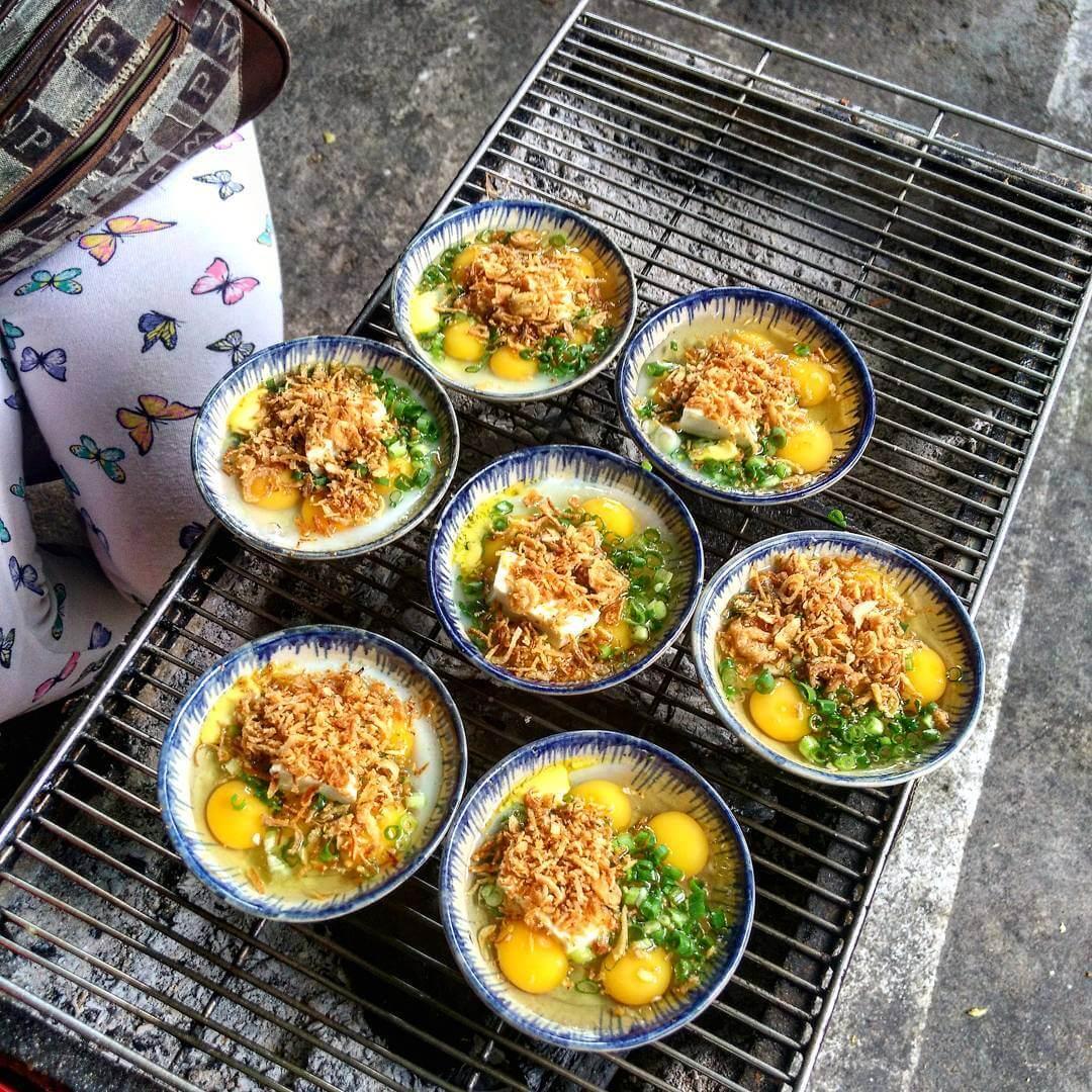 Trứng phô mai nướng - Món ăn ngon tại Hồ Chí Minh