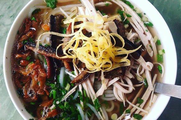 Bún thang lươn - Món ăn ngon tại Hưng Yên
