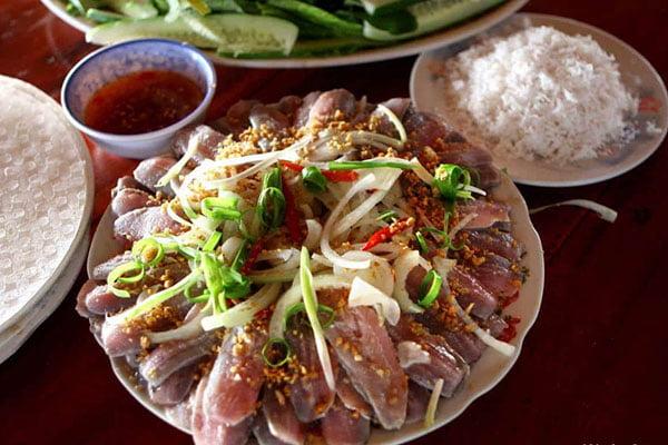 Gỏi cá trích - Món ăn ngon tại Kiên Giang