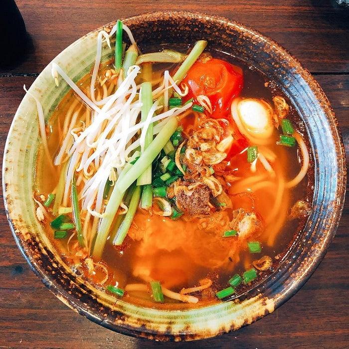 Bún đỏ cao nguyên - Món ăn ngon tại Kon Tum