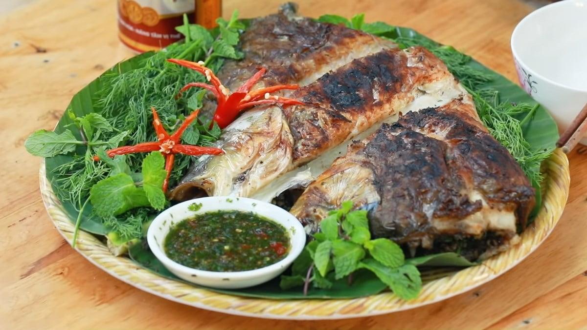 Pa pỉnh tộp - Món ăn ngon tại Lai Châu