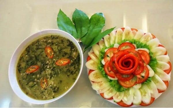 Canh tiết lá đắng - Món ăn ngon tại Lai Châu