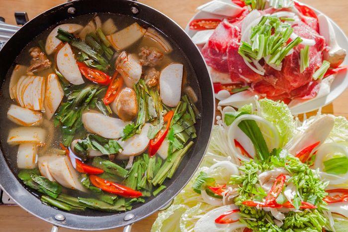 Lẩu bò tiềm - Món ăn ngon tại Lâm Đồng