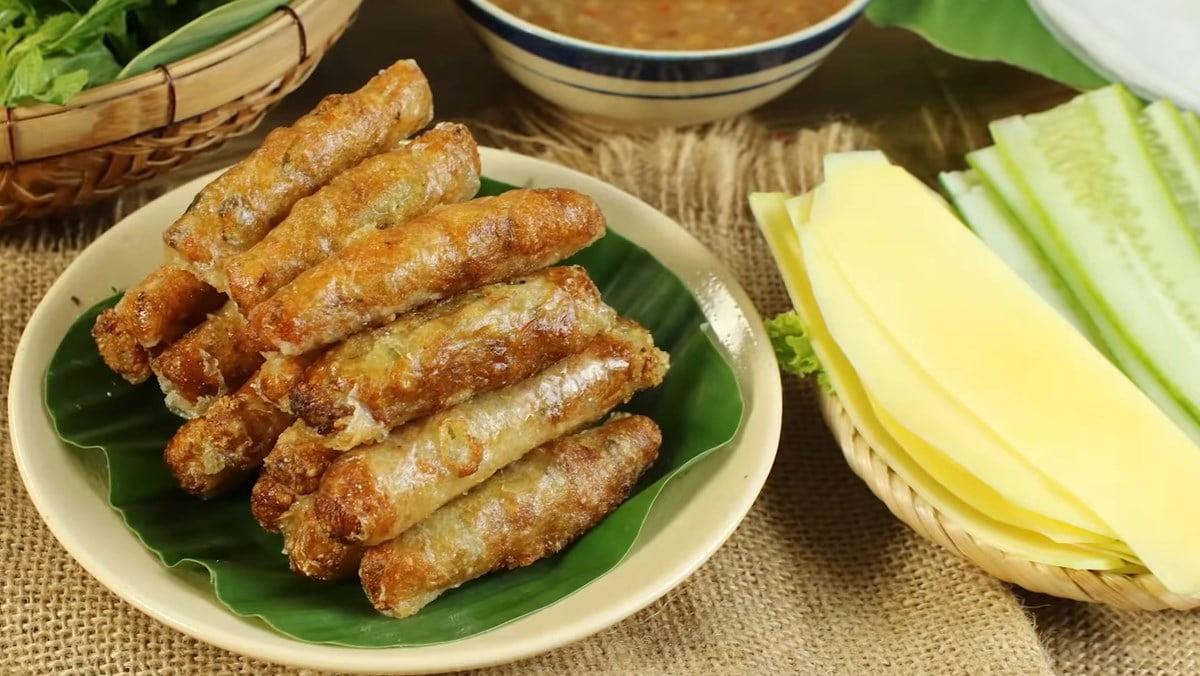 Chả ram bắp - Món ăn ngon tại Lâm Đồng