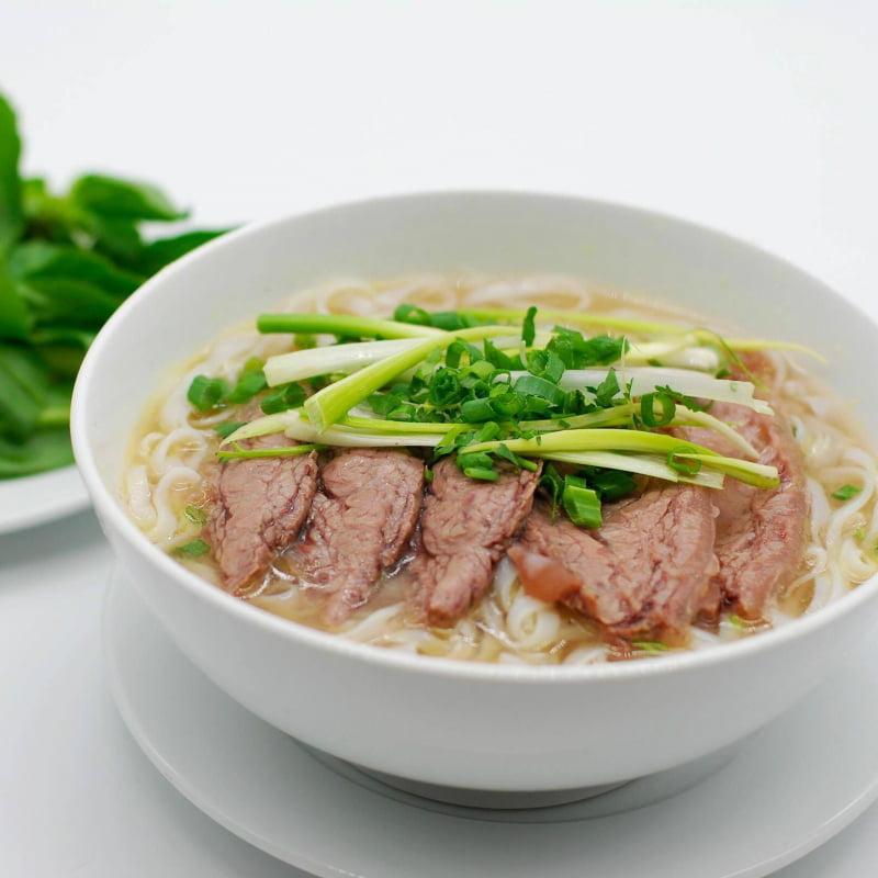 Phở Vương - 10 món ăn ngon Thái Bình