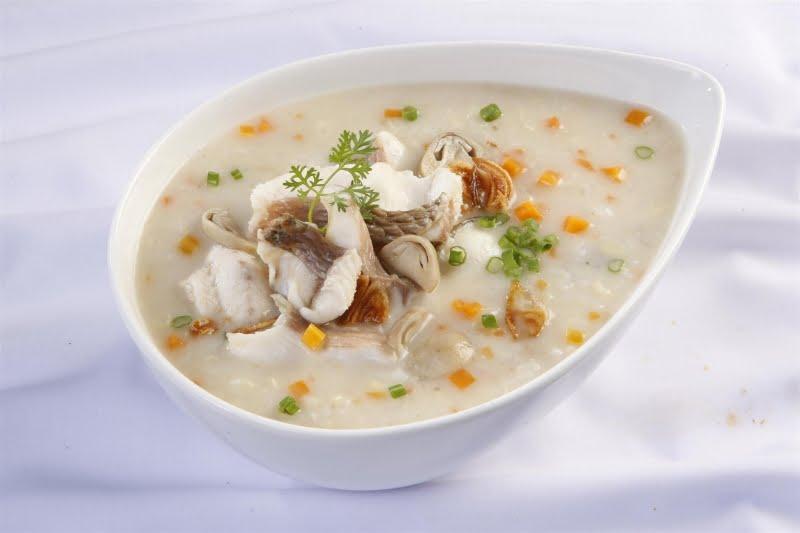 Cháo trai - 10 món ăn ngon Quảng Ninh